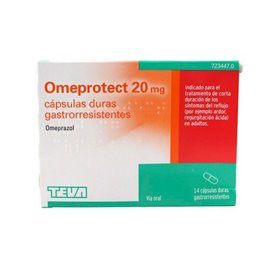 Omeprotect 20Mg - 14 Caps. (Blister)