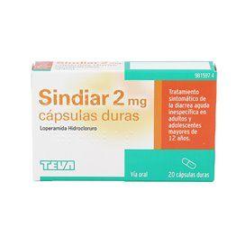 Sindiar 2 Mg 20 Capsulas