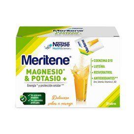 Meritene Magnesio Potasio Regeneris 20 Sobres Naranja