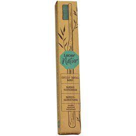 Lacer Cepillo Dental Bambú Ecológico Adulto Medio