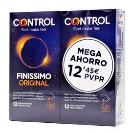 Control Finissimo Preservativos 12 U 2 Envases
