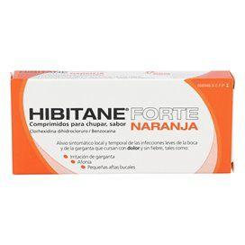 Hibitane 5/5 Mg 20 Comprimidos Para Chupar Naranja