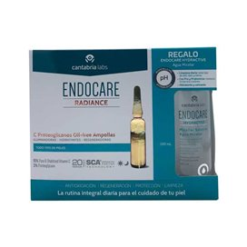 Endocare Radiance C Proteo Oil Free 30 Ampollas + Agua Micelar 100Ml